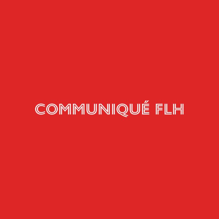Communiqué FLH